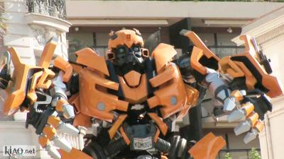 Video Transformers: Revenge of the fallen XTRA: Cannes