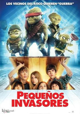 Poster_es Aliens in the Attic