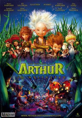 Poster_fi Arthur et la vengeance de Maltazard