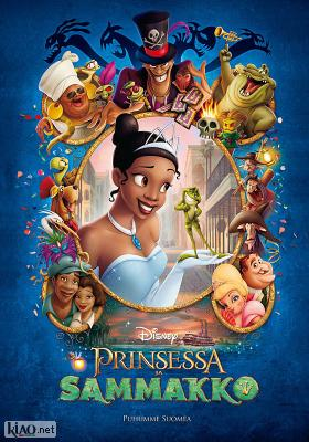 Poster_fi The Princess and the Frog