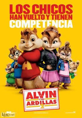 Poster_es Alvin and the Chipmunks: The Squeakquel