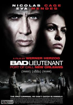 Poster_uk Bad Lieutenant: Port of Call New Orleans