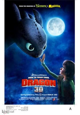 Poster_nl How to Train Your Dragon