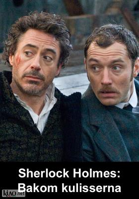Poster_se Sherlock Holmes XTRA: Behind the scenes