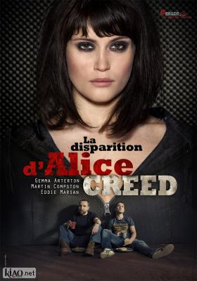 Poster_fr The Disappearance of Alice Creed