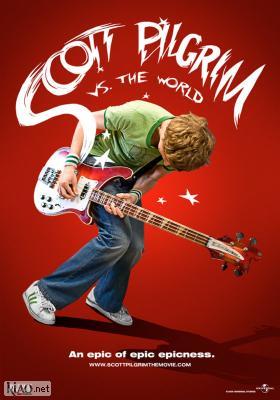 Poster_dk Scott Pilgrim Vs. The World