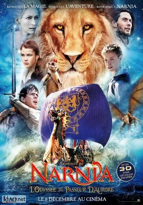 Poster_fr The Chronicles of Narnia: The Voyage of the Dawn Treader