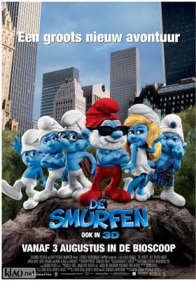 Poster_nl The Smurfs