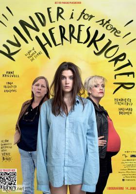 Poster_dk Kvinner i for store herreskjorter