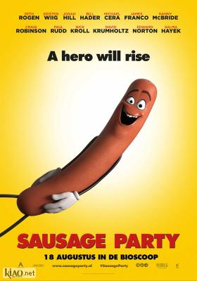 Poster_nl Sausage Party