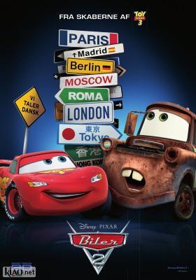 Poster_dk Cars 2