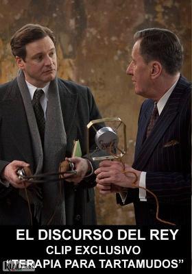 Poster_es El Discurso del Rey: Terapia para Tartamudos