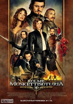 Poster_fi The Three Musketeers