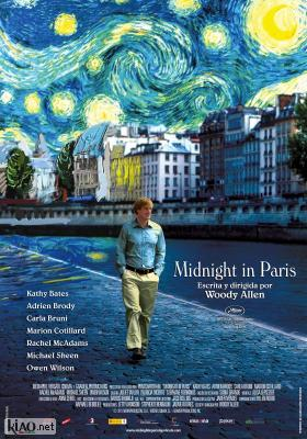 Poster_es Midnight in Paris