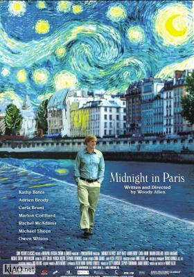 Poster_uk Midnight in Paris