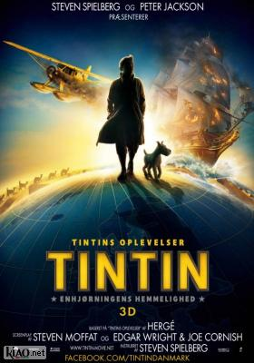 Poster_dk The Adventures of Tintin: The Secret of the Unicorn