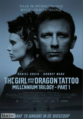Poster_nl The Girl with the Dragon Tattoo