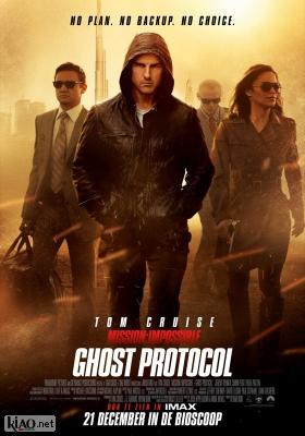 Poster_nl Mission: Impossible - Ghost Protocol