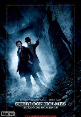 Poster_es Sherlock Holmes: A Game of Shadows