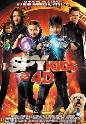 Poster_dk Spy Kids: All the Time in the World in 4D