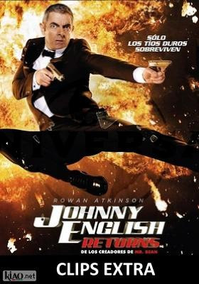 Poster_es Johnny English Returns. Clips Extra