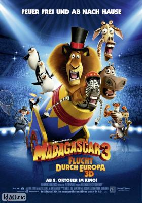 Poster_de Madagascar 3: Europe's Most Wanted