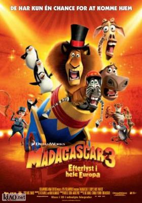 Poster_dk Madagascar 3: Europe's Most Wanted