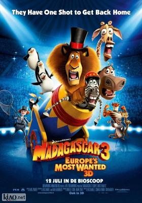 Poster_nl Madagascar 3: Europe's Most Wanted