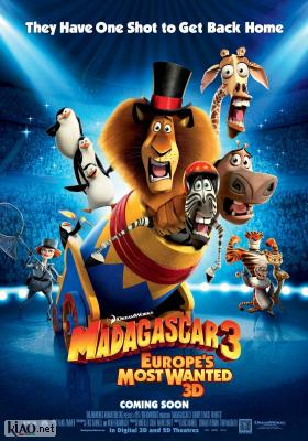 Poster_uk Madagascar 3: Europe's Most Wanted