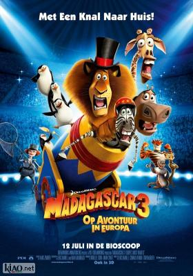 Poster_nl Madagascar 3: Europe's Most Wanted (Dubbed)