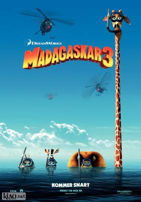 Poster_se Madagascar 3: Europe's Most Wanted (Dubbed)