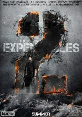Poster_se The Expendables 2
