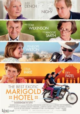 Poster_dk The Best Exotic Marigold Hotel