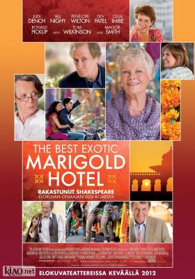 Poster_fi The Best Exotic Marigold Hotel
