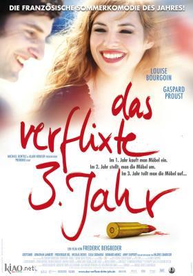Poster_de L'amour dure trois ans