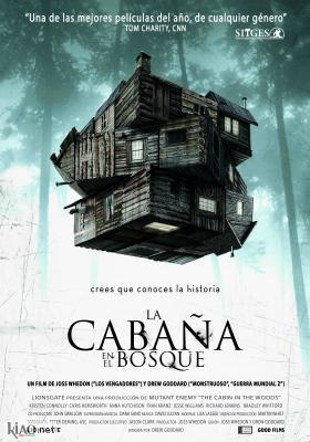 Poster_es The Cabin in the Woods