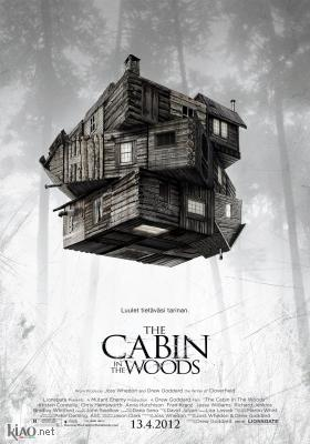 Poster_fi The Cabin in the Woods