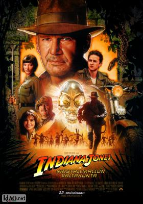 Poster_fi Indiana Jones and the Kingdom of the Crystal Skull