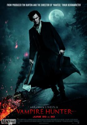 Poster_uk Abraham Lincoln: Vampire Hunter