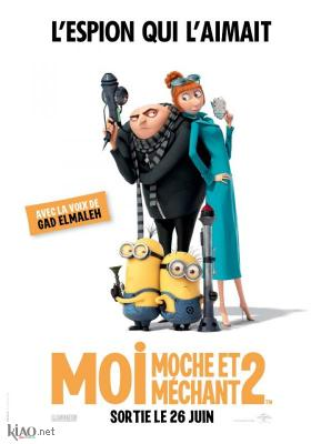 Poster_fr Despicable Me 2