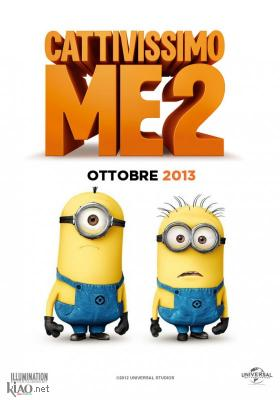 Poster_it Despicable Me 2