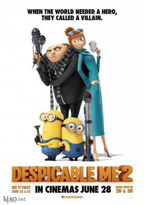 Poster_uk Despicable Me 2