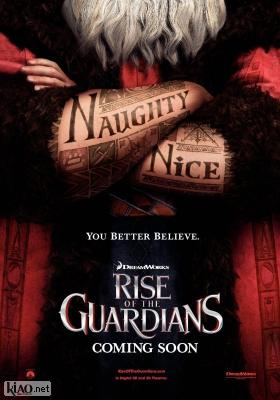 Poster_uk Rise of the Guardians